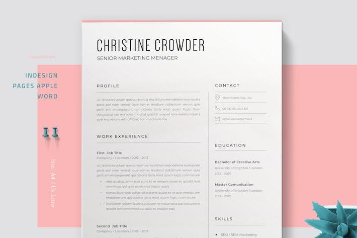 Thumbnail for Minimalist Resume