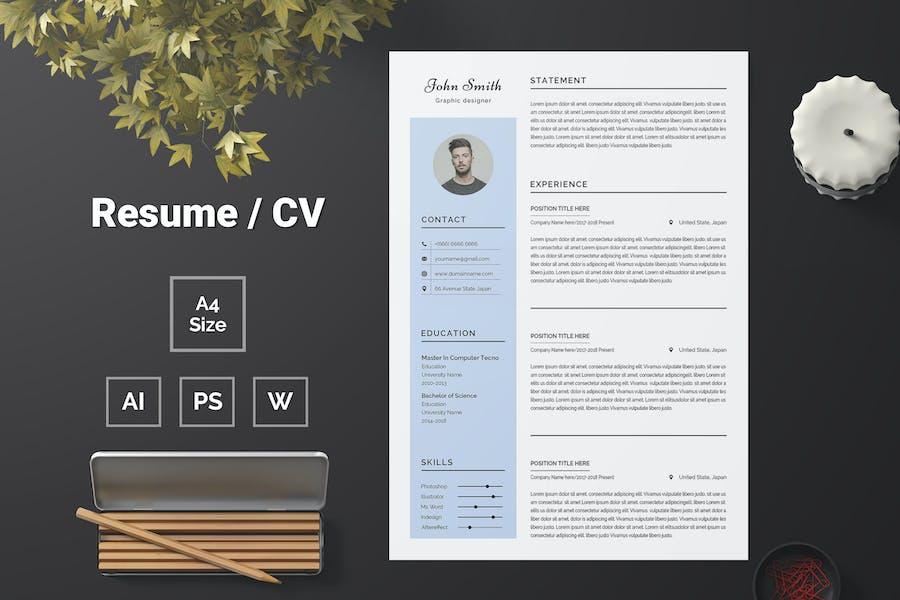 Resume Template 76