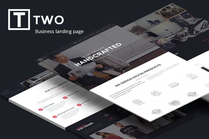 Cover Image For T- TWO Creative Business Template
