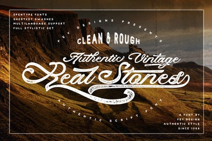 Real Stones - Clean And Rough