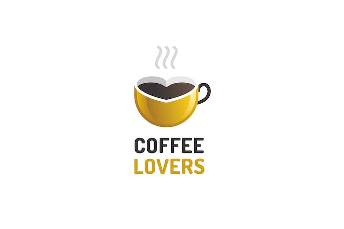 Thumbnail for Coffee Lovers - Logo Template