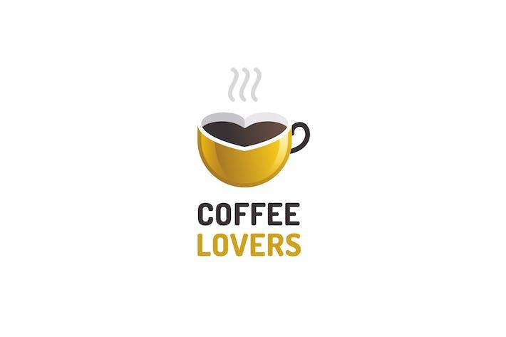 Coffee Lovers - Logo Template