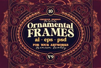 10 Frames Vol.9 - Victorian Ornament