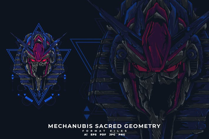 Thumbnail for MECHANUBIS SACRED GEOMETRY