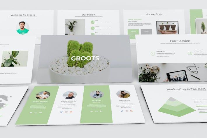 Thumbnail for ГРУППЫ — Творческий бизнес-PowerPoint Шаблон