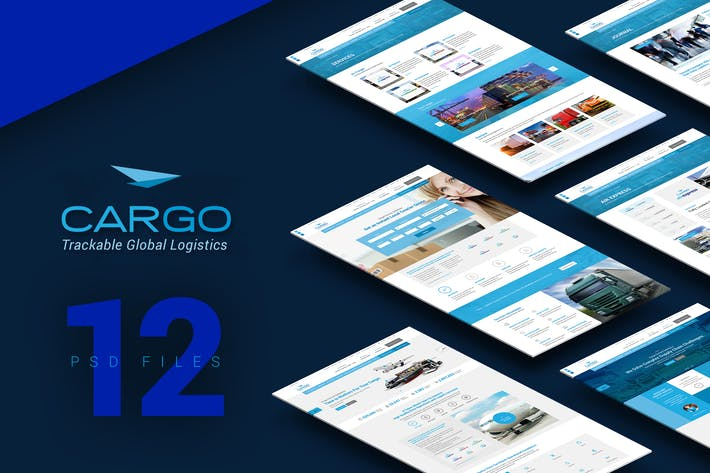 Thumbnail for Cargo PSD Template
