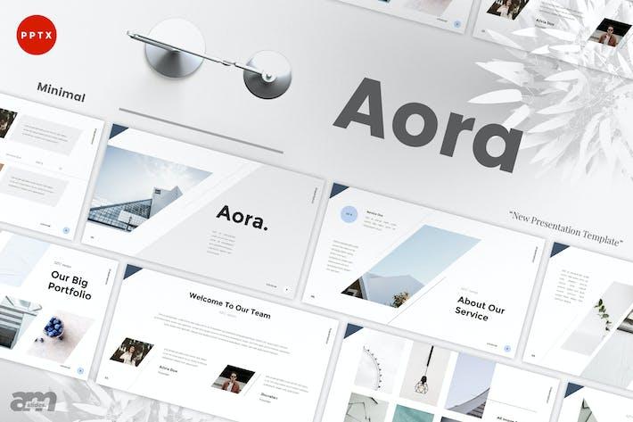 Thumbnail for Aora - Minimal Powerpoint