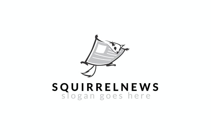 Thumbnail for Squirrel News Logo Template