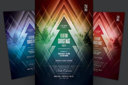 Electro Christmas Flyer