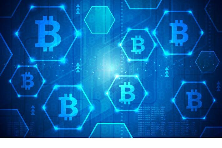 Thumbnail for Bitcoin Technology Vektor Illustration 5