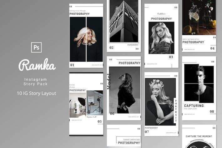Thumbnail for Ramka - Instagram Story Pack