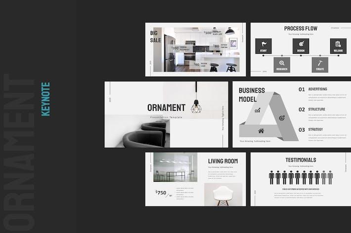 Thumbnail for Ornament Furniture Keynote Presentation