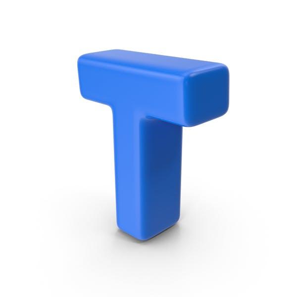 Thumbnail for Blue Letter T
