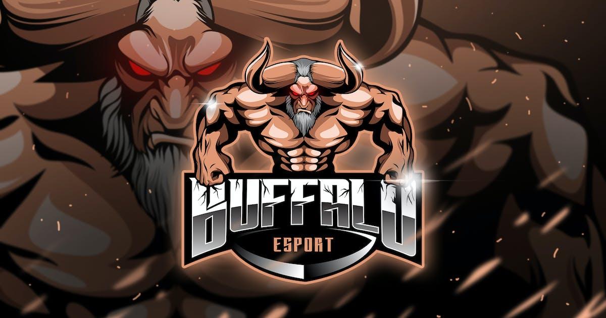 Download Bufallo - Mascot & Esport Logo by aqrstudio