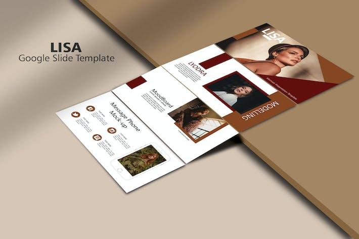 Thumbnail for LISA - Мода Шаблон слайдов Google