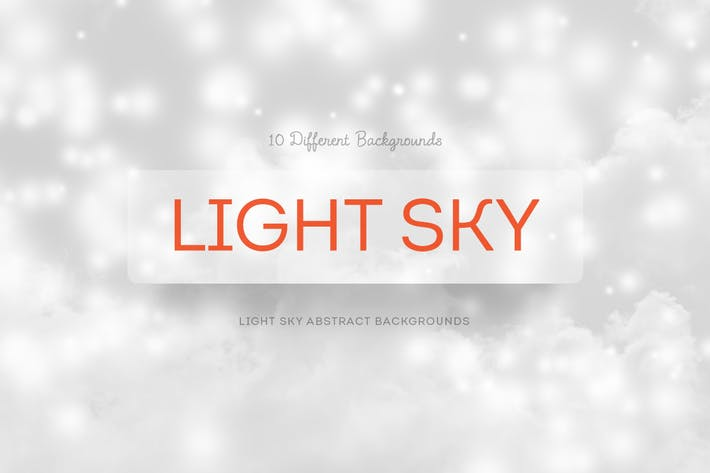 Thumbnail for Light SKY Abstract Backgrounds