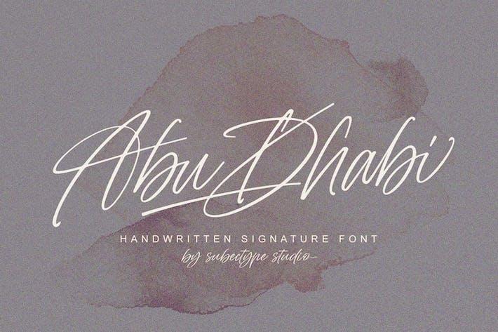 Thumbnail for Fuente Signature de Abu Dhabi