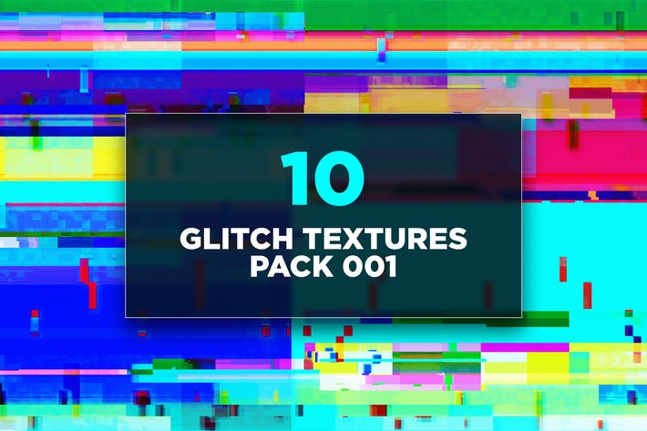 Thumbnail for Glitch Textures Pack 001