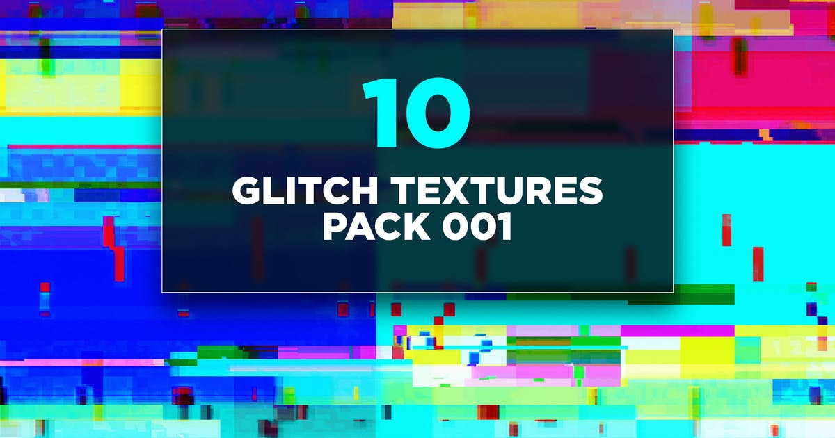 Download Glitch Textures Pack 001 by traint