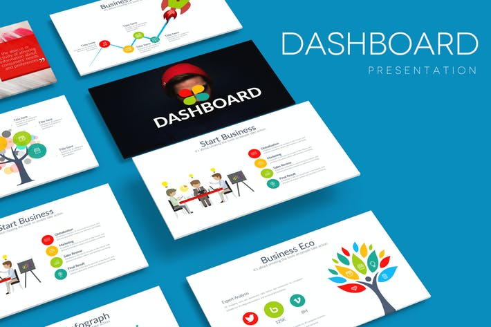 Thumbnail for DASHBOARD Google Slides