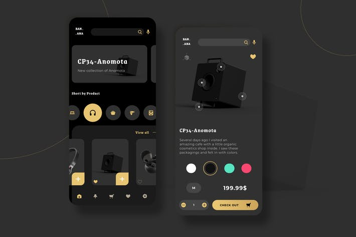 Thumbnail for Electronic Market UI - PP