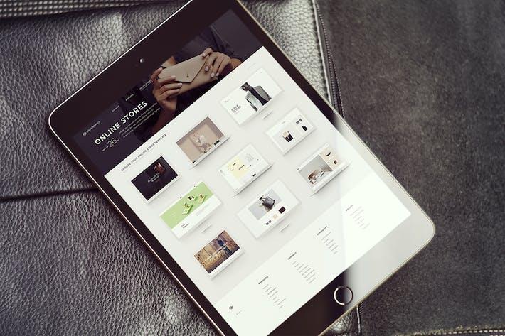 Thumbnail for iPad Vertical Screen Mockups