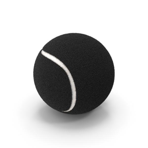 Теннисный мяч черный