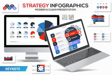 Strategy Infographics Keynote Template
