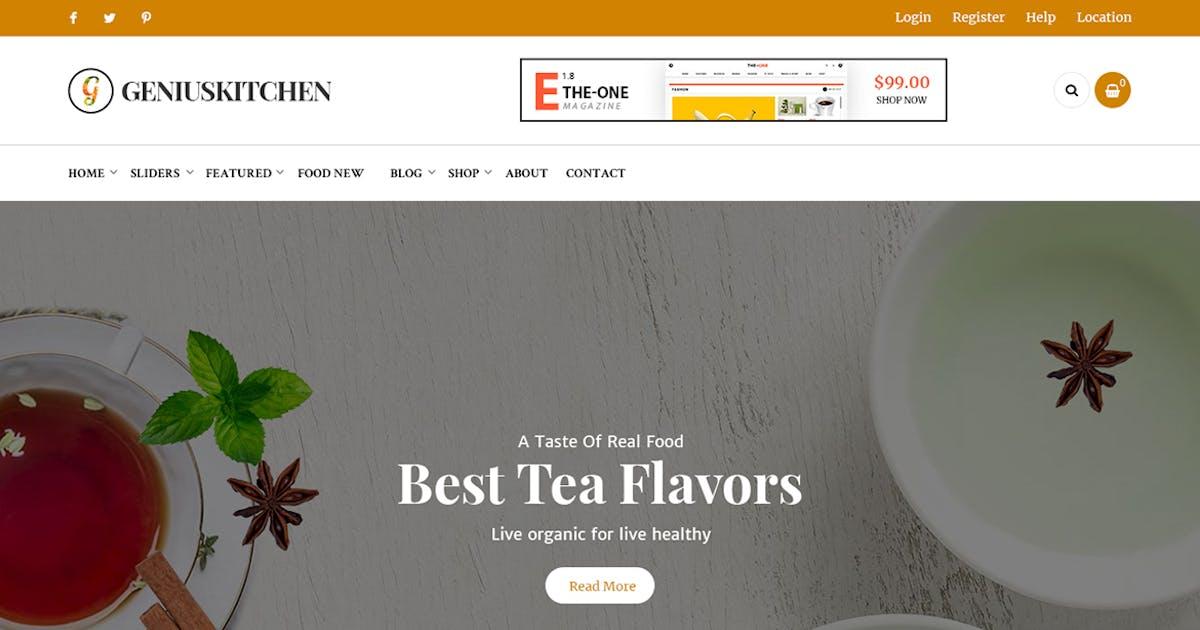 Download Genius Kitchen - Restaurant News Magazine and Blog by 7uptheme