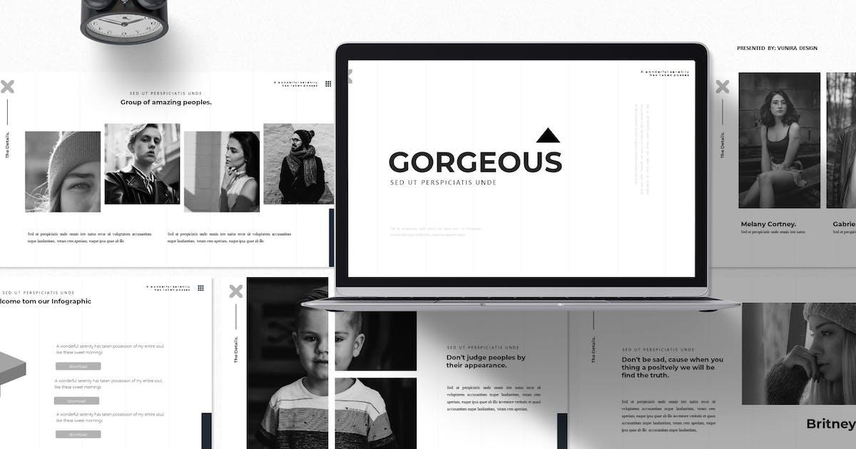 Download Goregeous | Google Slides Template by Vunira