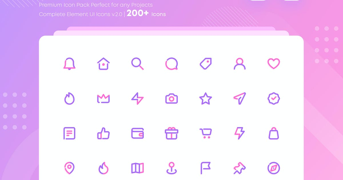 Download Complete Web and Mobile UI Icons Pack by NEWFLIX