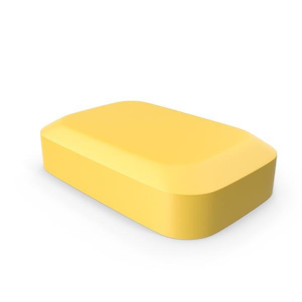 Длинный планшет желтый