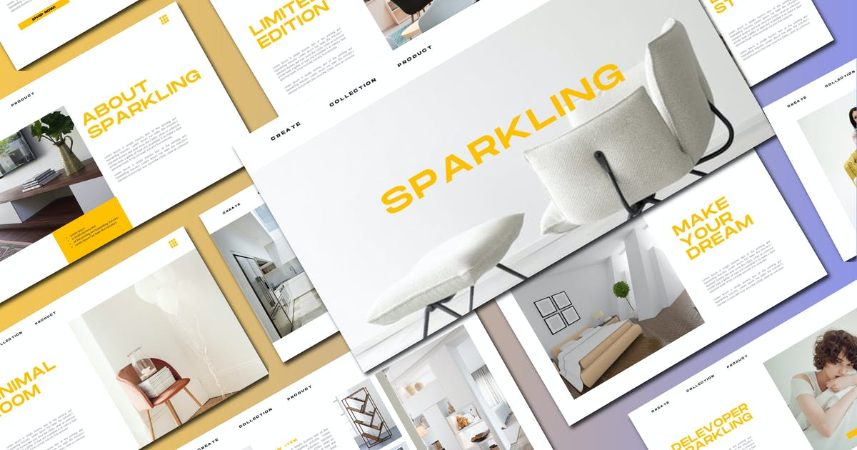Download Sparkling - Keynote Template by axelartstudio