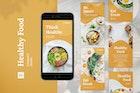 Healthy Food Instagram Stories