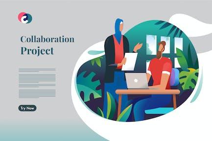 Remote collaboration project