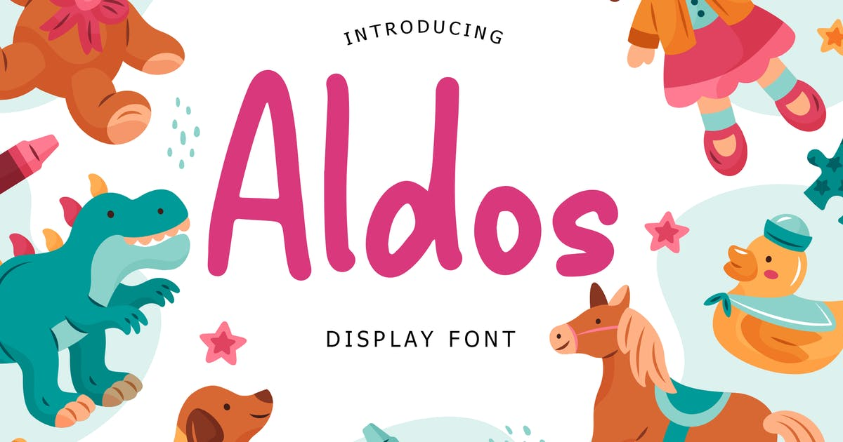 Download Aldos Display Font by Formatika