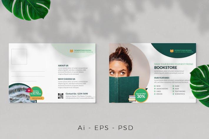 Book Launch Postcard Design