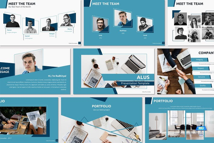 Thumbnail for ALUS - Keynote Template