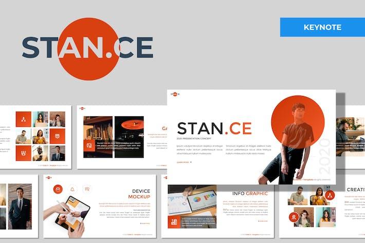 Stance - Многоцелевой Шаблон Keynote