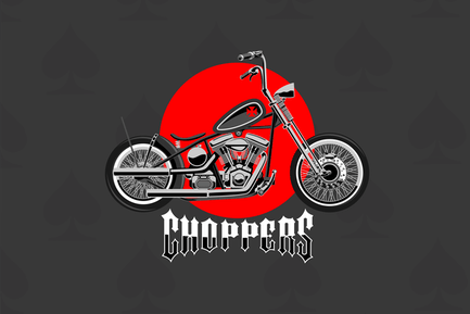 Choppers - Vector Illustration