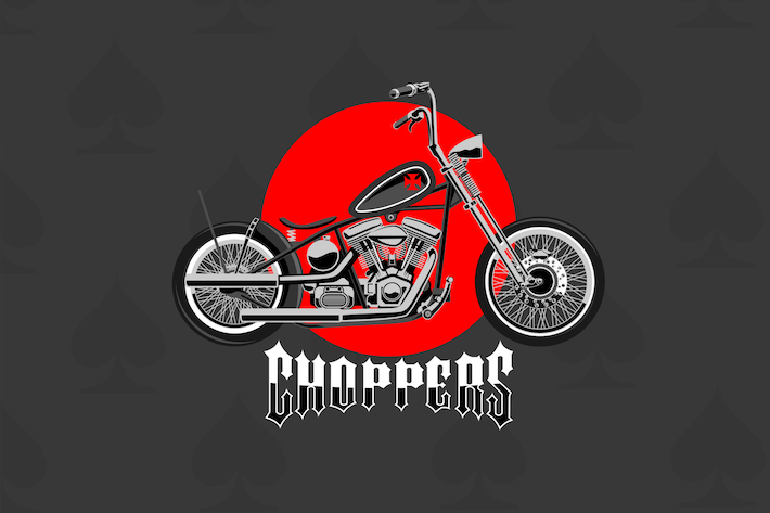 Thumbnail for Choppers - Vector Illustration