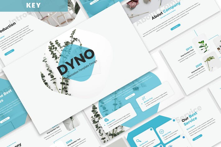 Thumbnail for Dyno - Business Keynote Template