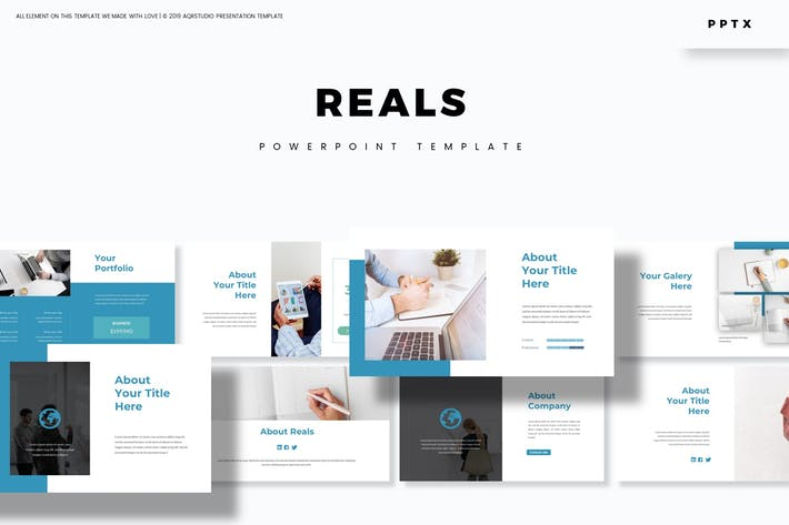 Reals - Powerpoint Template
