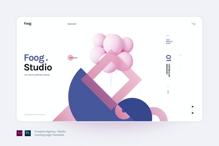 foog - Creative Agency and Studio Template