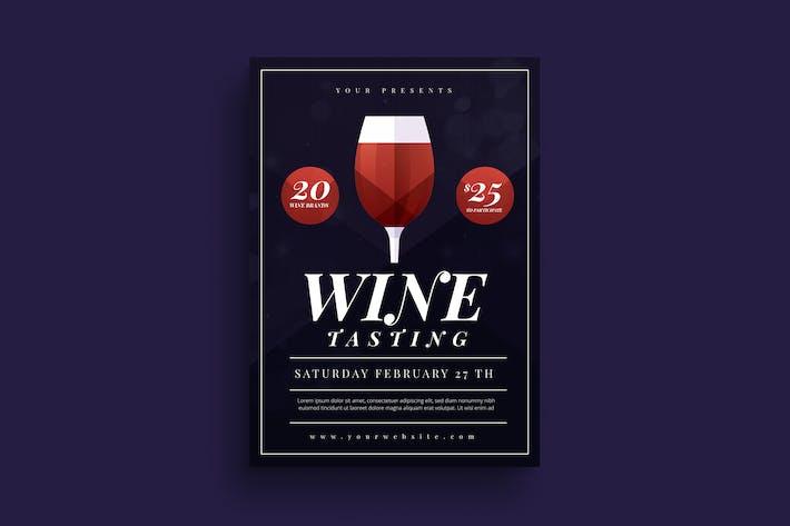Thumbnail for Wine Tasting Flyer