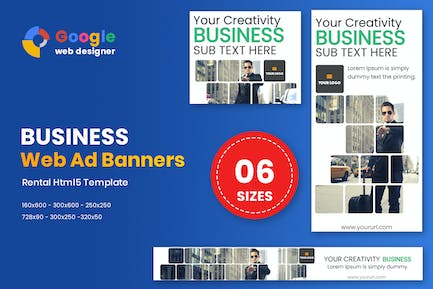 Business Banners HTML5