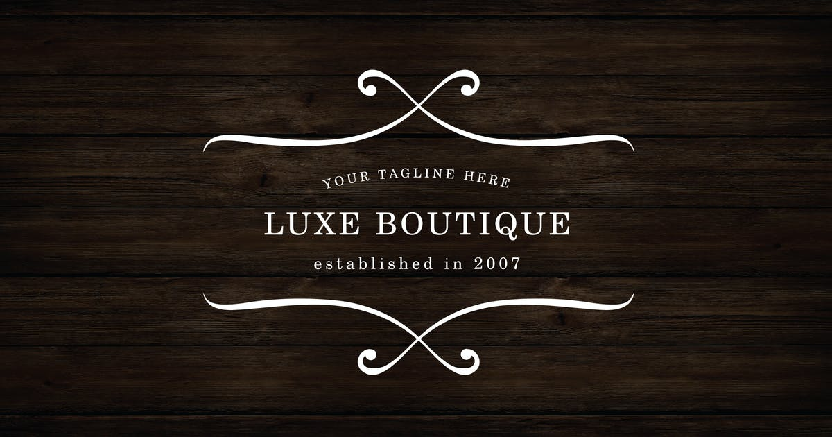 Download Luxe Boutique Logo by roselindo