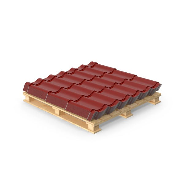 Cover Image for Metal Roofing Pallet