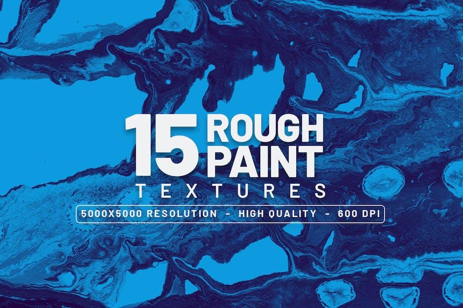 15 Rohfarben-Texturen