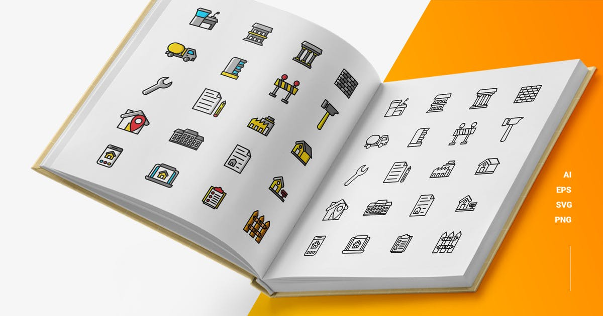 Download Real Estate - Icons by esensifiksi